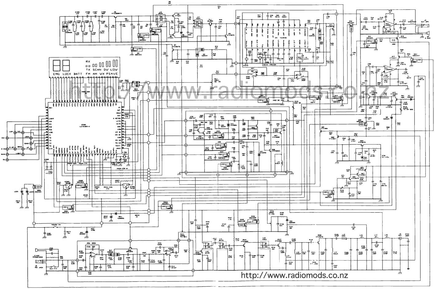 the defpom cb and ham circuit diagram page rh radiomods co nz Schematic Wiring Diagram HVAC Diagrams Schematics