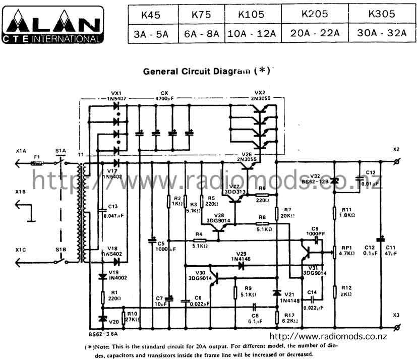 The Defpom Cb And Ham Circuit Diagram Pagerhradiomodsconz: Jackson Power Supply Wiring Diagram At Gmaili.net