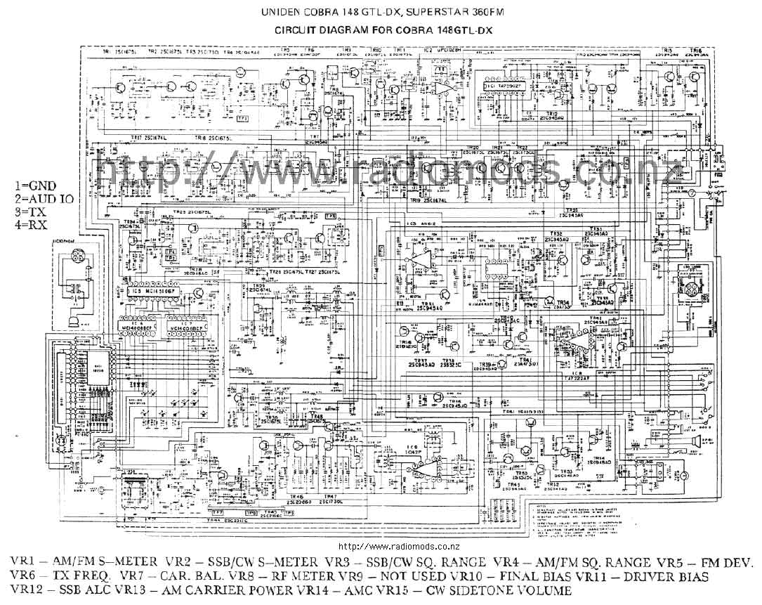 Defpom CB And HAM Circuit Diagram Page