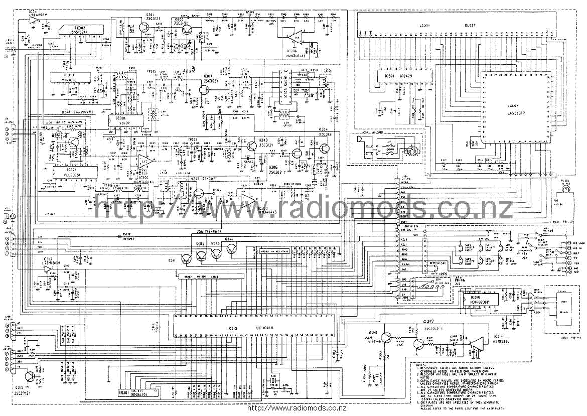 the defpom cb and ham circuit diagram page rh radiomods co nz