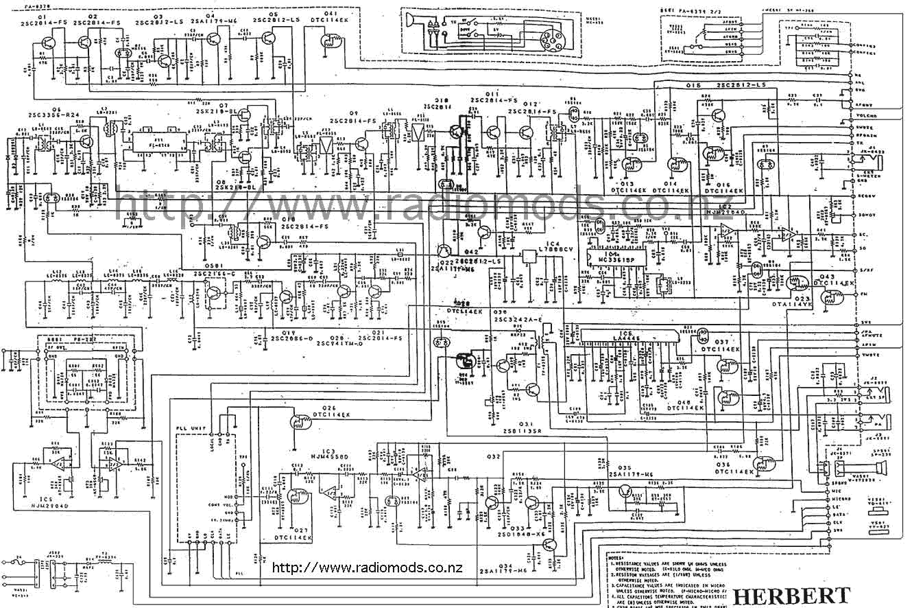 Schematic Diagram President Herbert Cb Radio - Find Wiring Diagram •