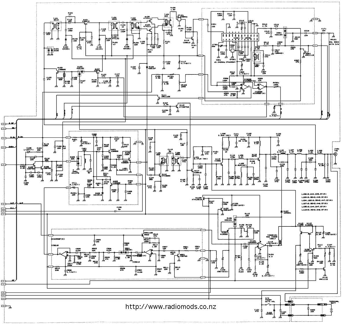 Go To the President Randy Circuit Diagram