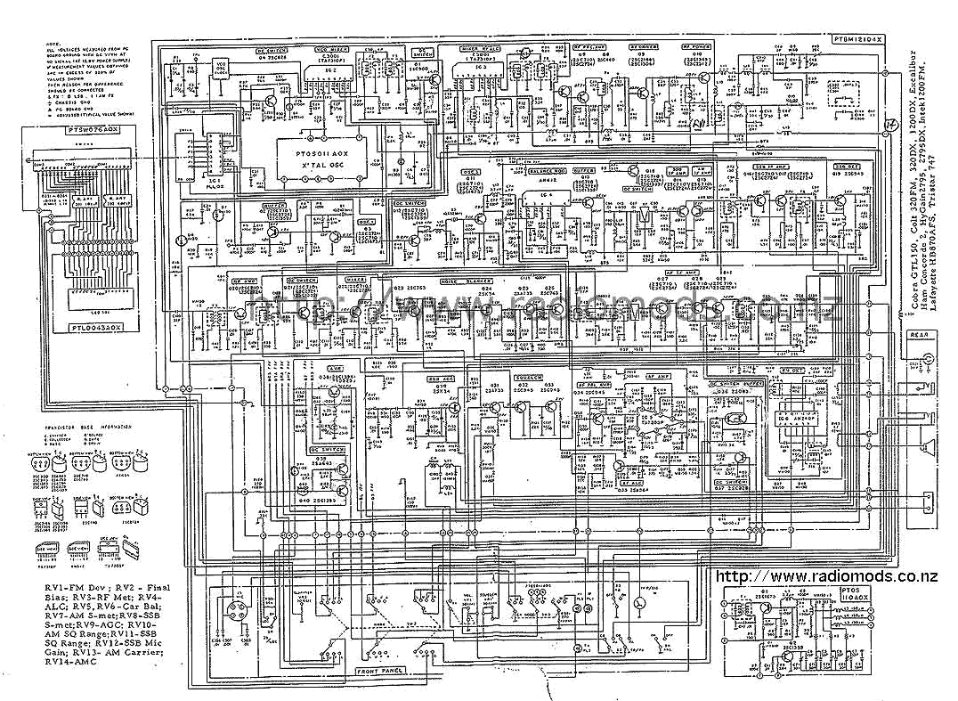 The Defpom Cb And Ham Circuit Diagram Page Excalibur Wiring Diagrams Go To Cybernet Export Ptbm121d4x