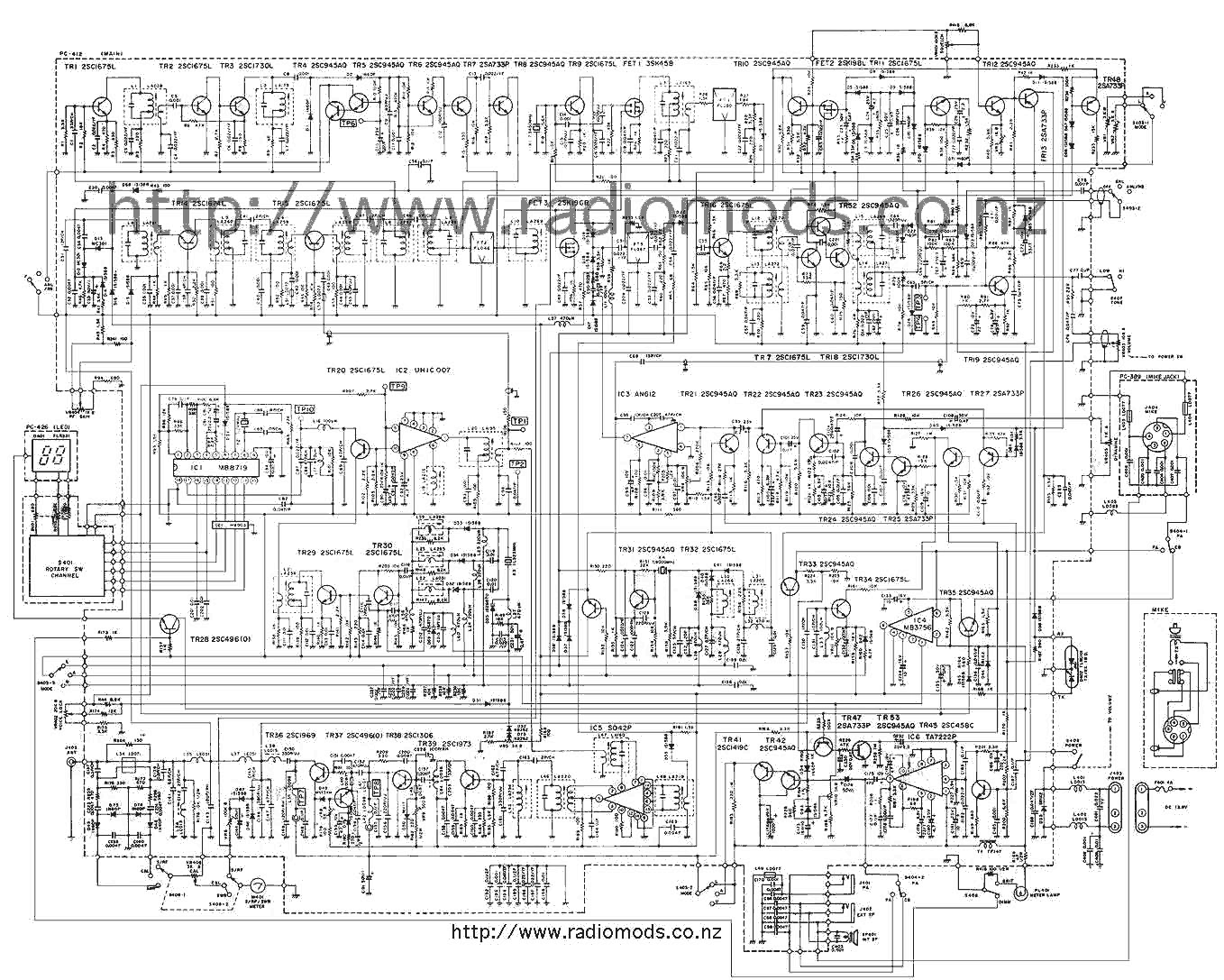 The Defpom CB And HAM Circuit Diagram Page on
