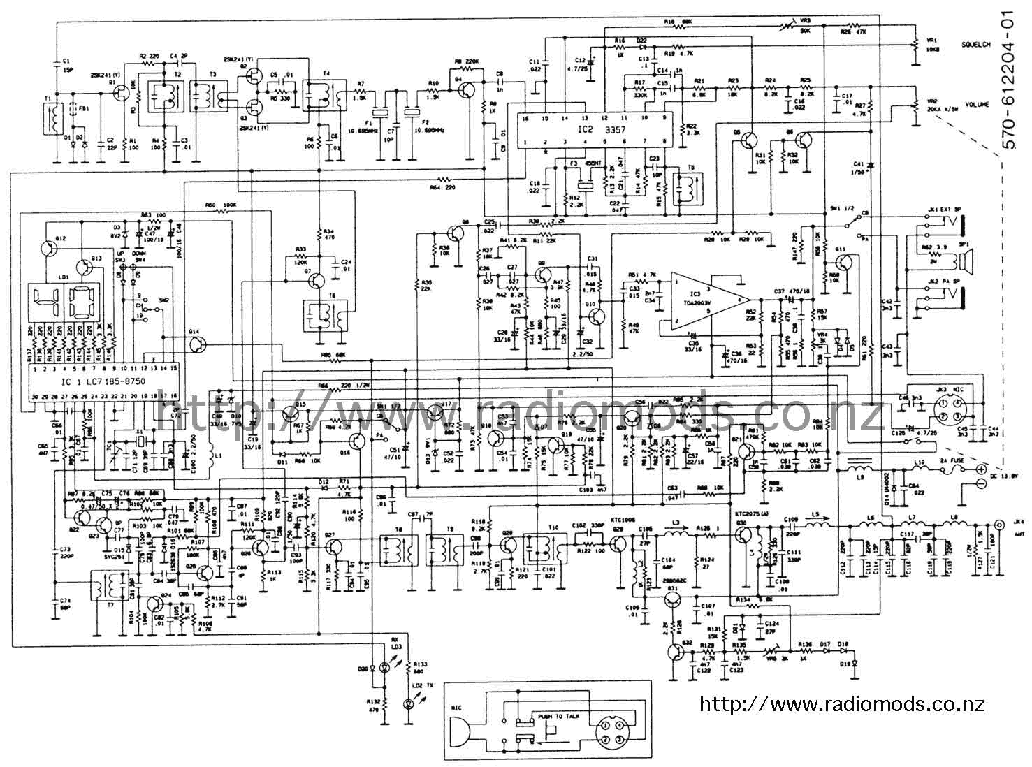 The Defpom Cb And Ham Circuit Diagram Page 240 Schematic Wiring Go To Danita