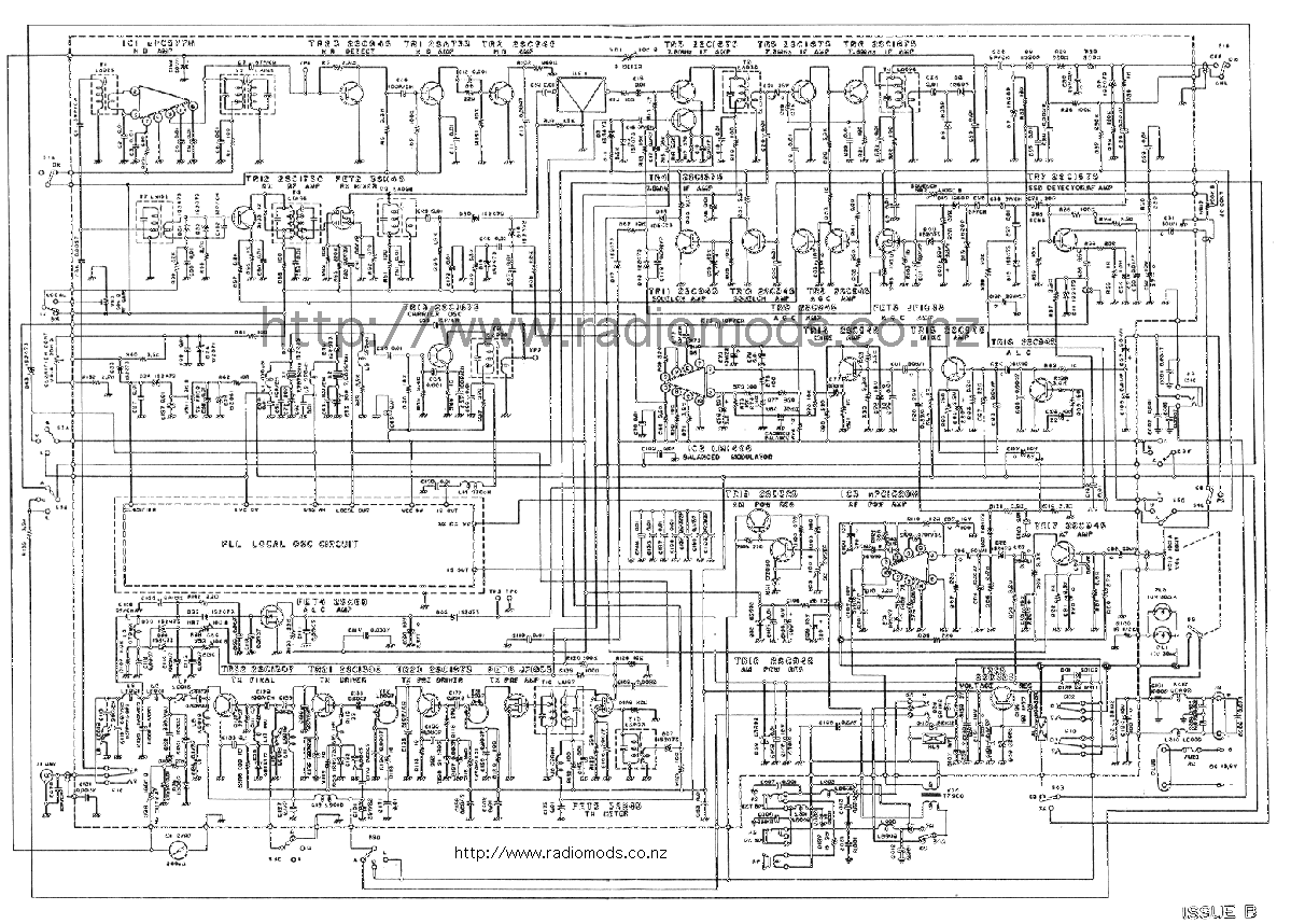 The Defpom Cb And Ham Circuit Diagram Page Ups Pcb Go To Courier Spartan Main