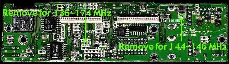 RadioMods Radio Shack HTX242 Mods